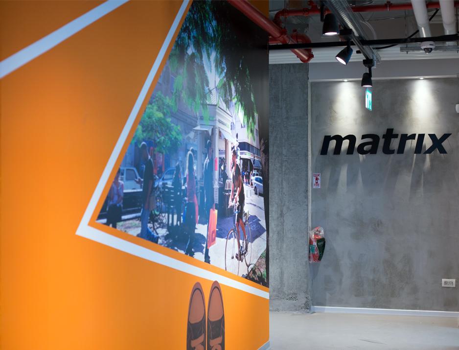 Matrix Wall Design 5