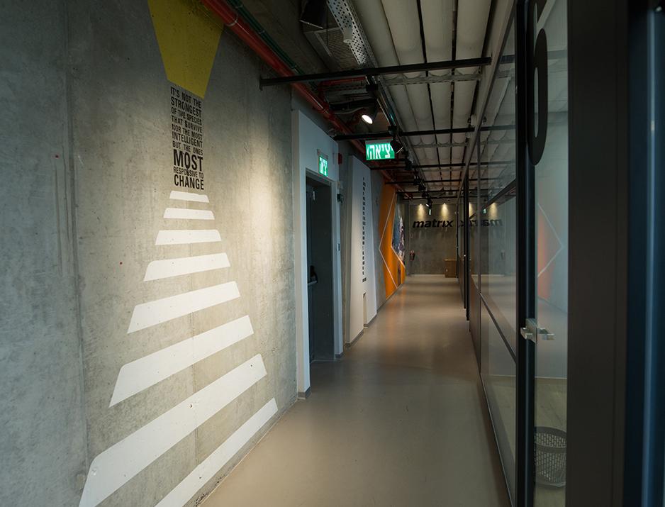 Matrix Wall Design 6