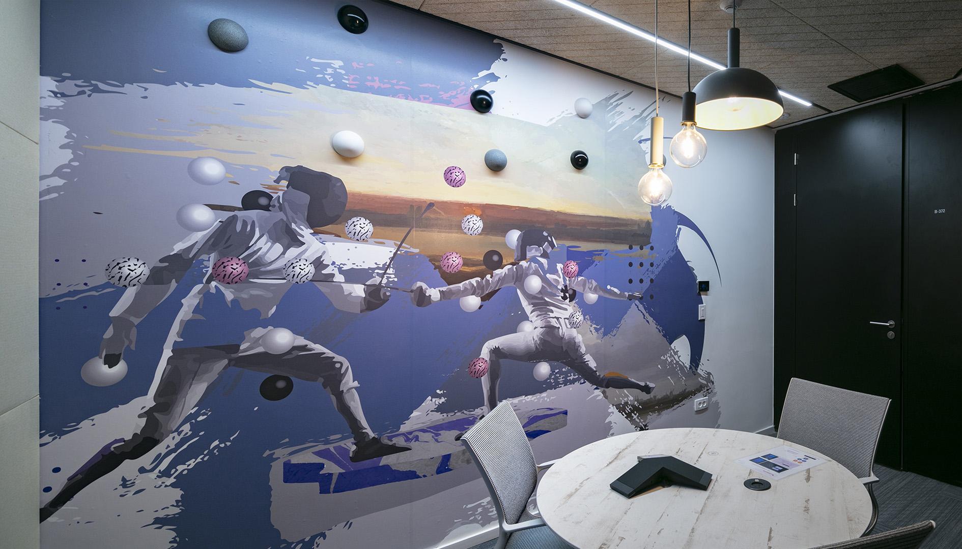 עיצוב משרדים | מיתוג גרפי | חברת ורוניס | עיצוב מוצר | עיצוב גרפי במרחב | מיתוג משרדים | עיצוב חללי עבודה | עיצוב קירות