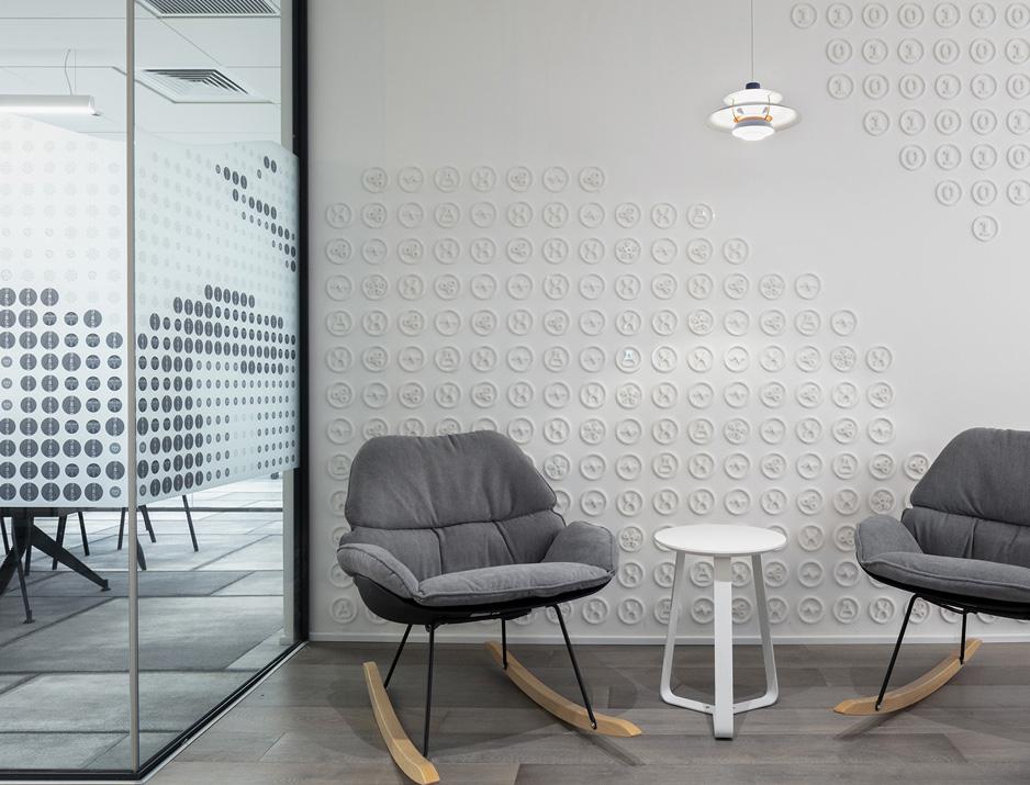 עיצוב משרדים | מיתוג גרפי | חברת אולסקרייפט | עיצוב גרפי במרחב | מיתוג משרדים | עיצוב חללי עבודה | עיצוב קירות